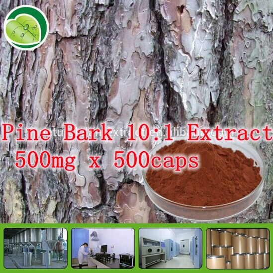 ФОТО 5Pack High Quality Natural Pine Bark 10:1 Extract 500mg x 500caps free shipping