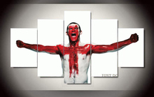 Framed Printed rooney nike Group Painting children's room decor print poster picture canvas 5pca/set Free shipping F/1330