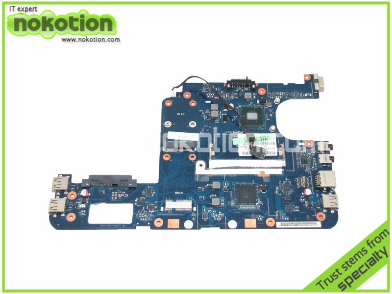 Good Tested Laptop motherboard for toshiba satellite NB255 K000106960 PAV10 LA-5123P N455 GMA 3150 DDR3 Intel Mother Board  motherboard for toshiba qosmio f60 flesy3 p000536690 100% tested good