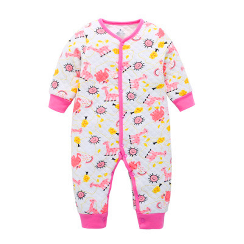 Winter Baby Boy & Girl Clothes Warm-keeping Overall Clothing New Born Baby Clothes Winter Newborn Romper Infant Baby Girl
