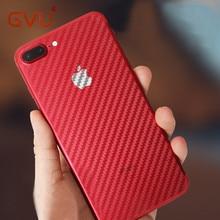 GVU Carbon Fiber 3D Soft Film For iPhone 6 6 Plus Film Clear Scratch-protection Back Film For iPhone 7 7 8 Plus Anti-Fingerprint