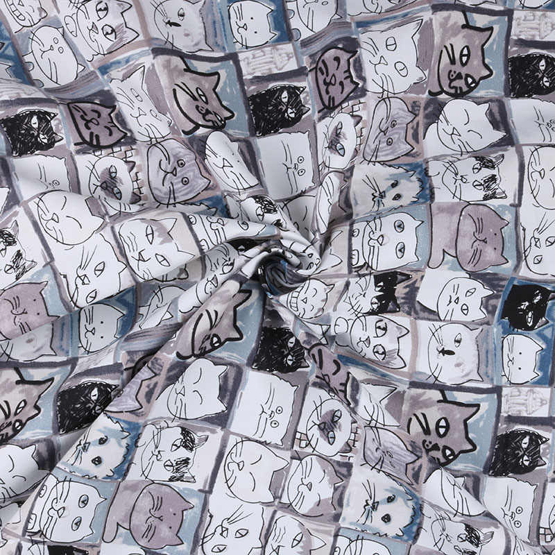 Nanchuang кошка холщовая обивка ткань хлопок утка ткань для Подушка DIY сумка обувь скатерть подушка Декорации для дома материал