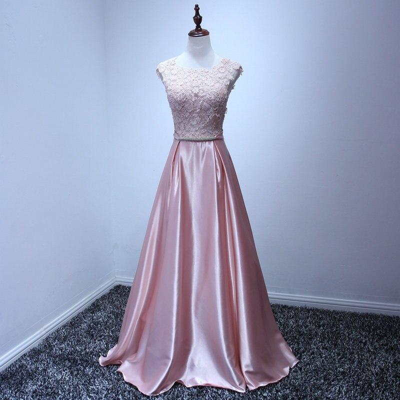 Beauty-Emily Appliques Long   Prom     Dresses   A Line Elegant Floor-length Sexy Plus Size Evening   Dress   Party Gowns Robe De Soire