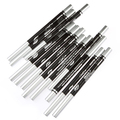 12pcs Black Eyeliner Pencil Eye Shadow Pen Eye Liner Sticks Eyebrow Pencil Cosmetic Makeup Set Maquiagem MY701-001