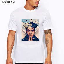 newest Xxxtentacion Character Print T-Shirt men summer high quality tshirt homme Fashion Casual Fitness T Shirt Short Sleeve