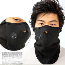Флисовая велосипедная полумаска для лица, защитный колпак для лица, для велоспорта, лыж, спорта на открытом воздухе, зимний шарф для защиты шеи, теплая маска