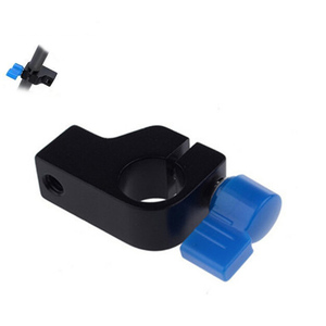 "Professional 1/4"" Thread Mount Rail Block Rod Clamp Rig 15mm Rod DSLR Rig Support Rail System Follow Magic Arm Monitor Rig"
