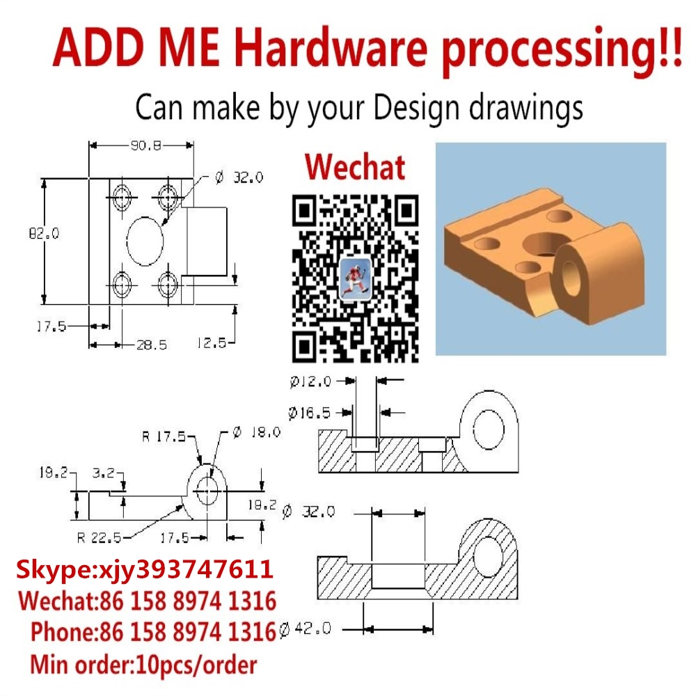Hardware Processing Drawing tool Parts Aluminum Iron Copper Production in Guangdong min order10pcs