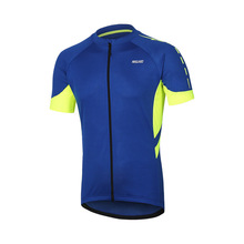 ARSUXEO Cycling Jersey MenS Quick-Drying Breathable Bicycle Running Clothing Outdoor Sports Riding Bike