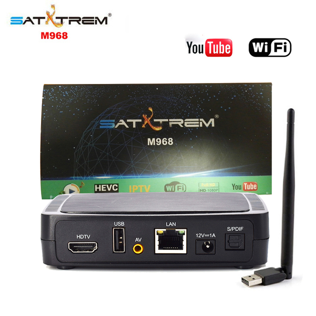 US $50 0 |M968 IPTV Set Top Box Internaet TV Box H 265 Full HD 1080P Mag  Box H 265 HEVC Youtube Support USB WIFI-in Set-top Boxes from Consumer