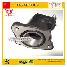 JH125L ZS125GY 125cc 150cc jialing zongshen MOTORCYCLE  INTAKE PIPE MANIFOLDS RUBBER CARBURETOR CONNECTOR MOTORCYCLE ACCESSORIES