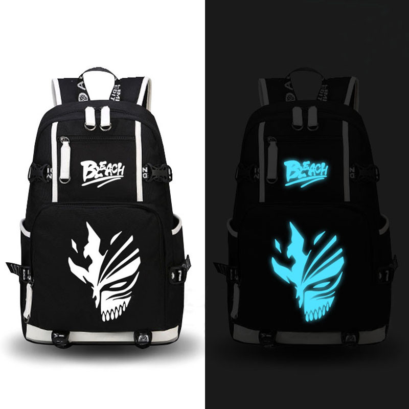 High Quality 2017 New Anime BLEACH Printing Backpack Travel Canvas Backpack Women military Rugzak School Laptop Bags цена