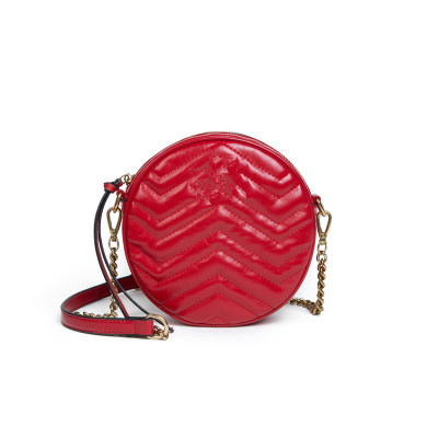 PU Leather Barrel-Shaped Round Women Bag Crossbody Bag Luxury Handbags Women Clutches Bags Evening Designer Messenger Bags