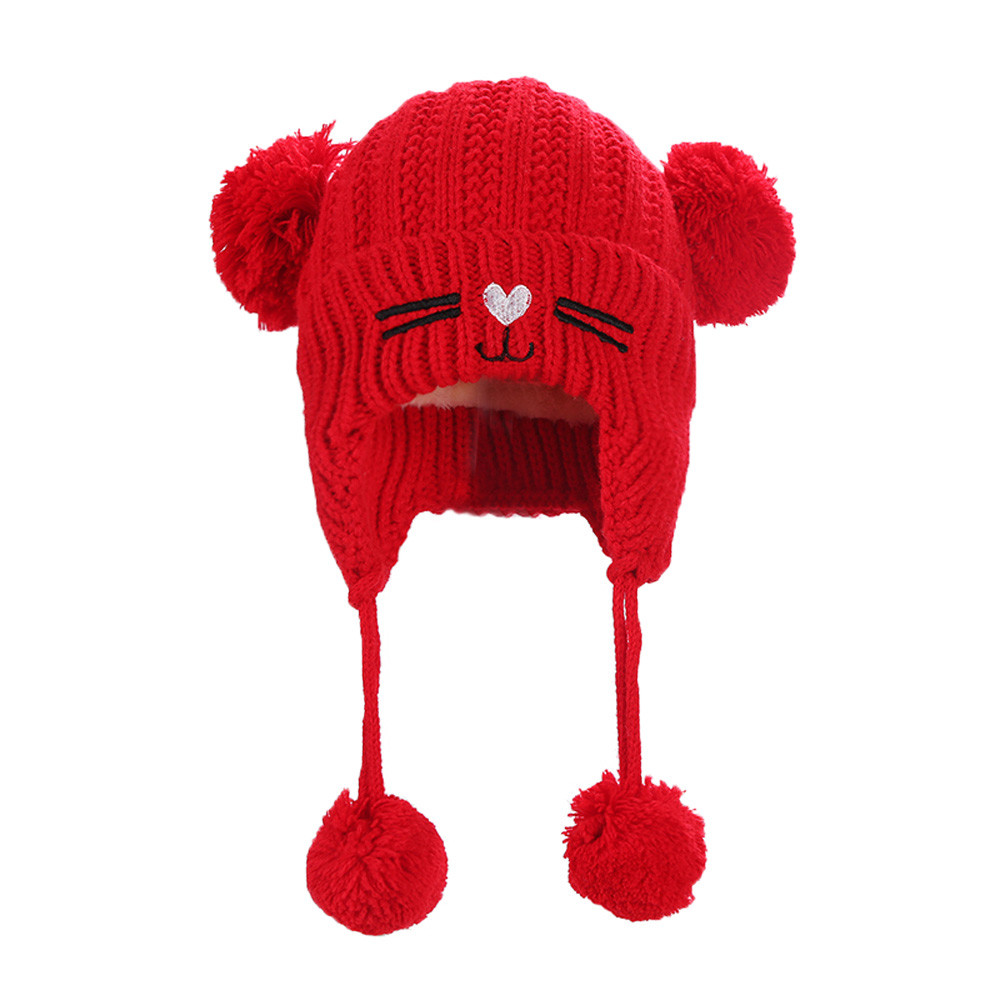 9119bdac486e6 Baby   Toddler Clothing Newborn Toddler Kids Baby Beanie Knitted Wool Baggy  Crochet Winter Warm Hat Caps