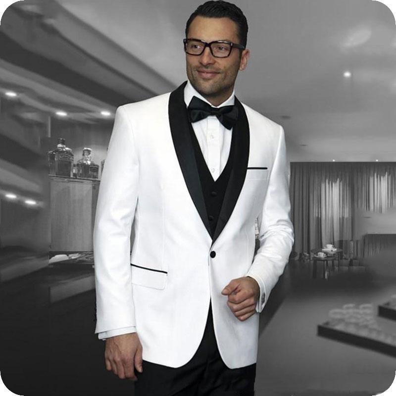 Groom Wedding Tuxedos Suits (69)