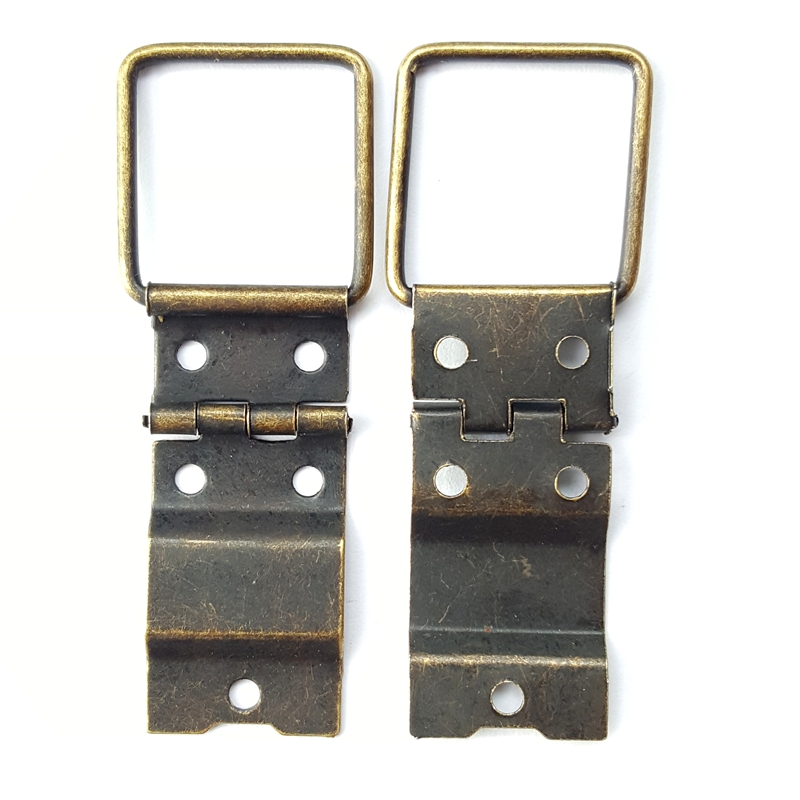 80pcs 16*38mm Antique Wholesale Bags Hinges Wooden Box Hardware Accessories Metal Hinge Special Jewelry Box Diy 10pcs antique bronze cabinet hinges furniture accessories door hinges drawer jewellery box hinges for furniture hardware 36x23mm