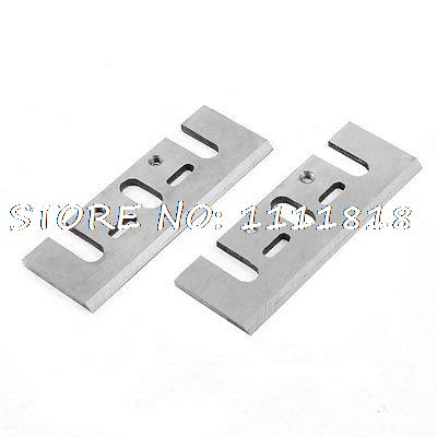 2 Pieces 82mm Long Electric Planer Blades Repair Parts For Makita 1900B