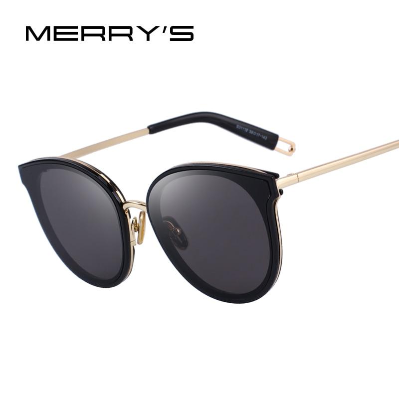 MERRY'S CONCEPTION Femmes Classique Mode Cat Eye lunettes de Soleil 100% UV Protection S'6311