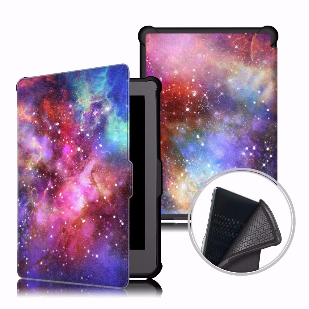 Magnetic Folding cover case for kobo clara HD 6.0 inch Smart stand pu leather cover for kobo clara HD case