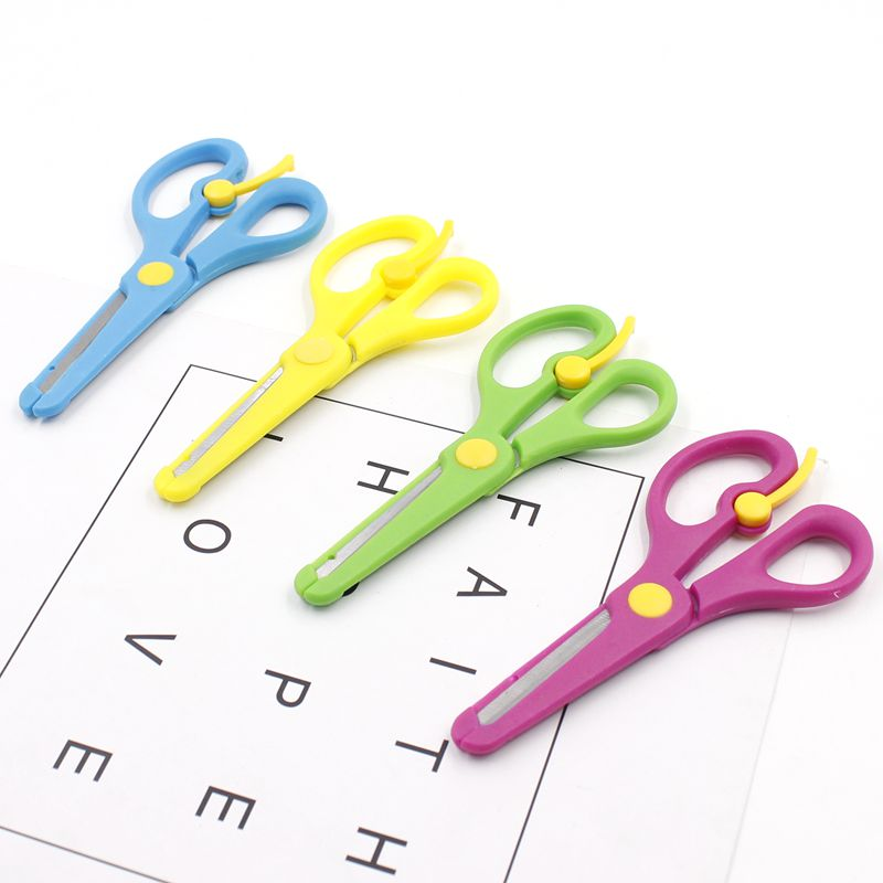 scissors Plastic small scissors children primary school students hand paper cutting tools