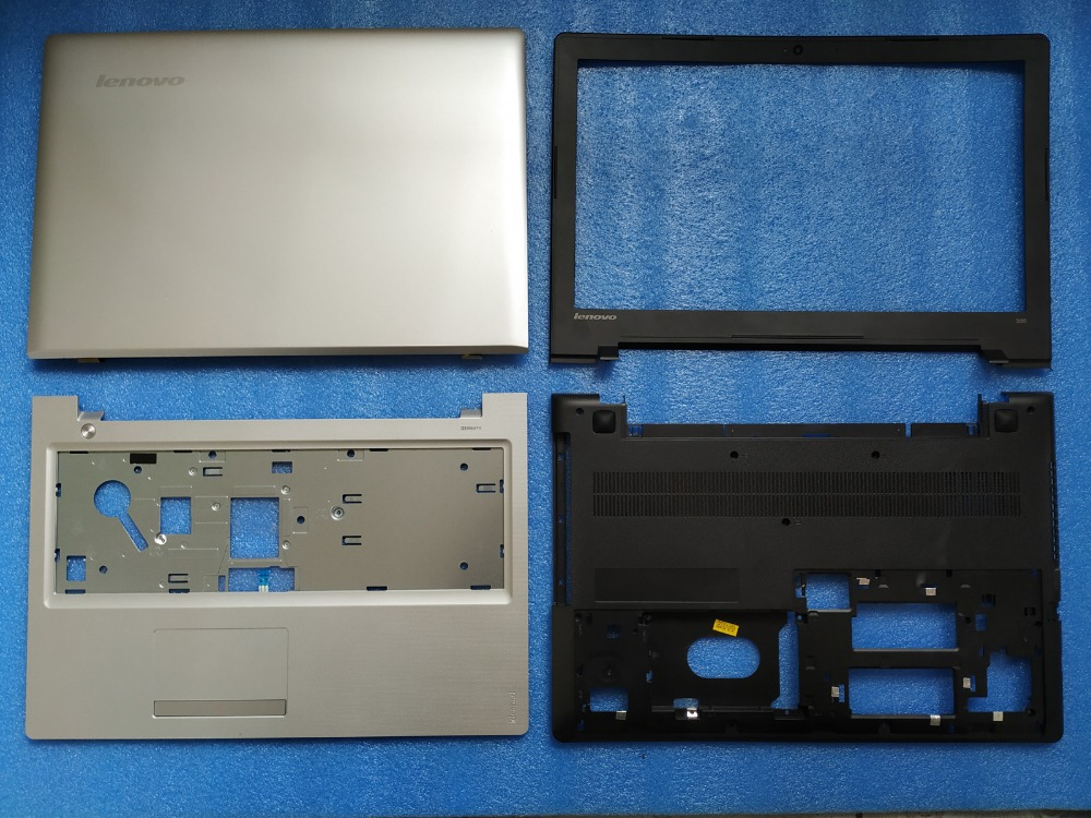 New Lenovo IdeaPad 300-15 300-15IBR 300-15ISK LCD back cover Rear Case Front Bezel/palmrest cover/bottom Base Cover цена и фото