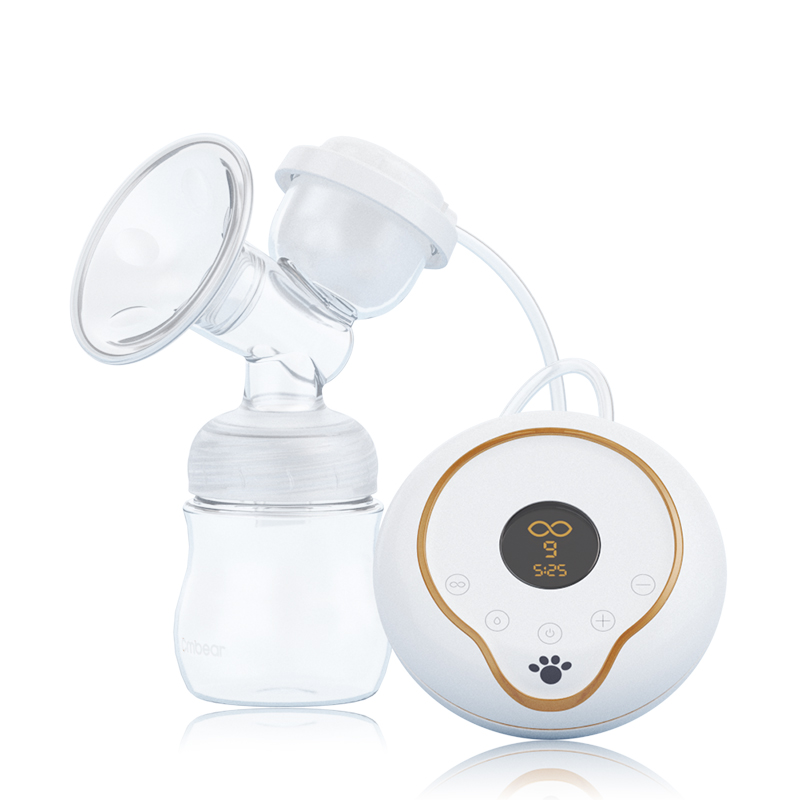 CMbear Official Store Electric Breast Pump BPA Free LED display Chargeable use 160ml Quiet Design BPA