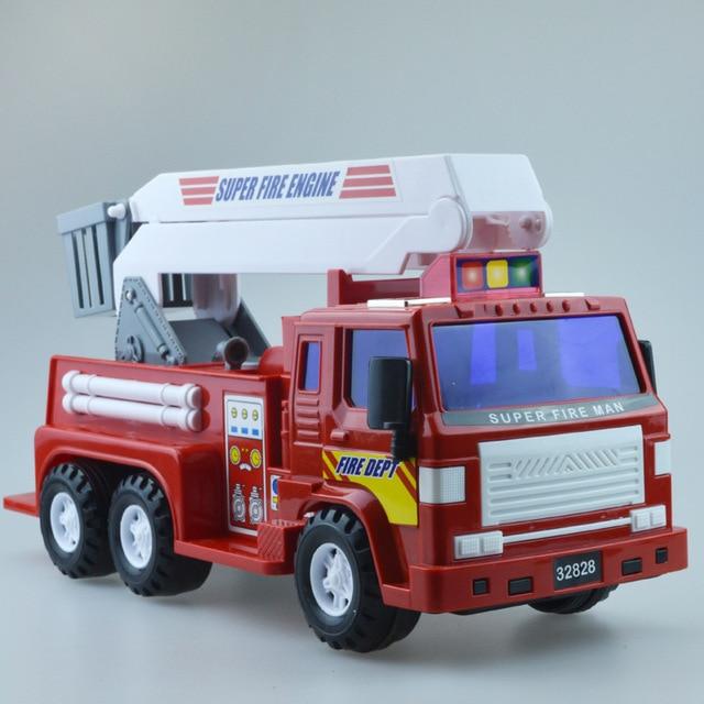 Simulation Super Fire Ladder Cars Model Car Alloy Pp Plastic
