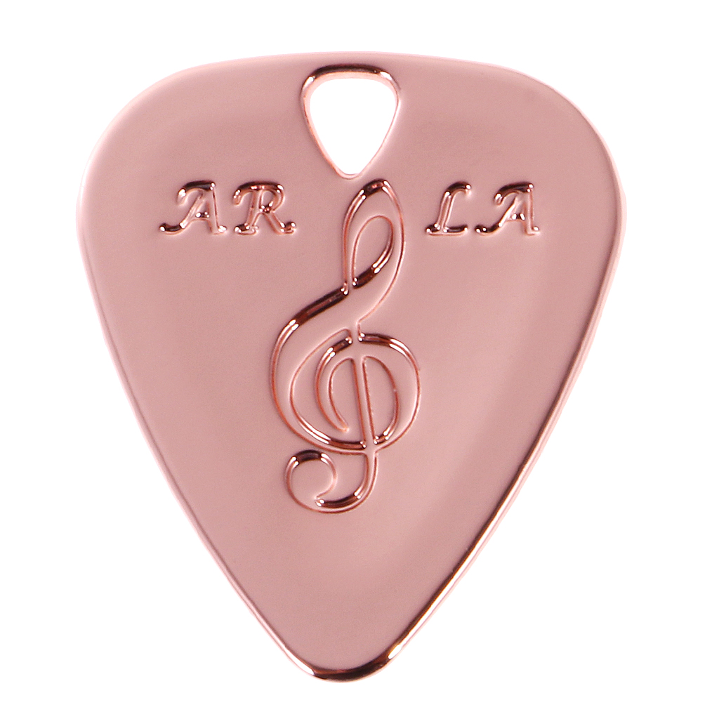 Metal Guitar Pick Plectrum for Bass Acoustic Electric Guitar Part Accessories Can be Used as a Pendant of Necklace or Bracelet