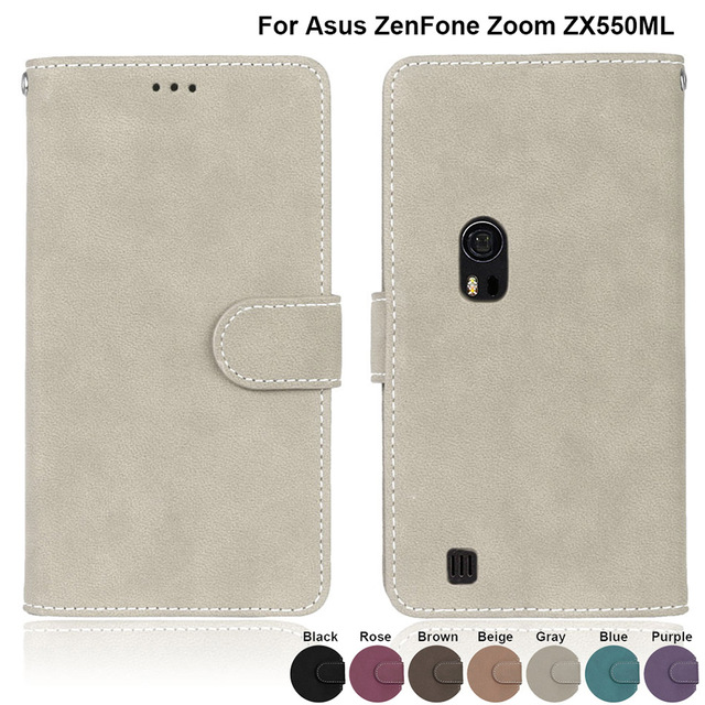 Luxury Wallet PU Leather Cover for ASUS Zenfone Zoom Z00XS ZX551ML ZX ZX551 551 551ML ML Case Fundas Coque Card Holder Capa Bags