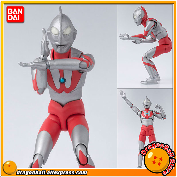 Japan Anime Ultraman Original BANDAI Tamashii Nations S.H. Figuarts / SHF Action Figure - Ultraman (A Type) japan anime lupin the 3rd original bandai tamashii nations shf s h figuarts toy action figure fujiko mine