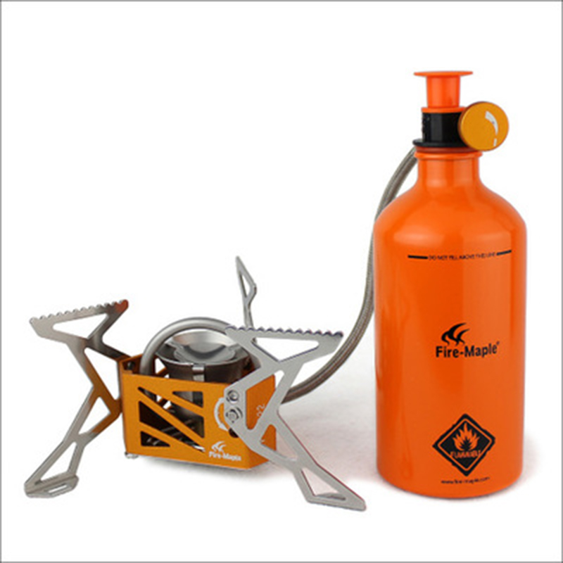 Outdoor Stove Camping Oil Stove Split Type Picnic Stove Furnace Gasoline High Power Camping Stove 3275W Fire Maple FMS-F3 fire maple outdoor gasoline stove burners portable oil