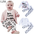 LZH Baby Boys Clothes Set Long Sleeve T shirt+Pants Outfit Suit 2017 New Spring Newborn Clothes Kids Toddler Girls Clothing Sets