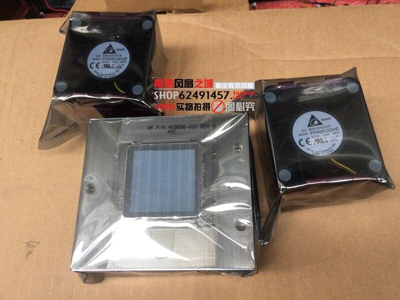 DL380G6 G7 Upgrade Kit heatsink+2 Fan 496064-001 496066-001 New for hp dl388p 388e g8 server upgrade kit fan heatsink 654577 001 663673 001