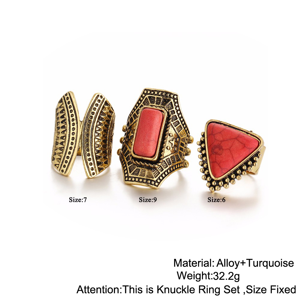 HTB1JgZuRXXXXXcIXVXXq6xXFXXXW Boho Style 3-Pieces Vintage Punk Knuckle Ring Set For Women - 2 Colors