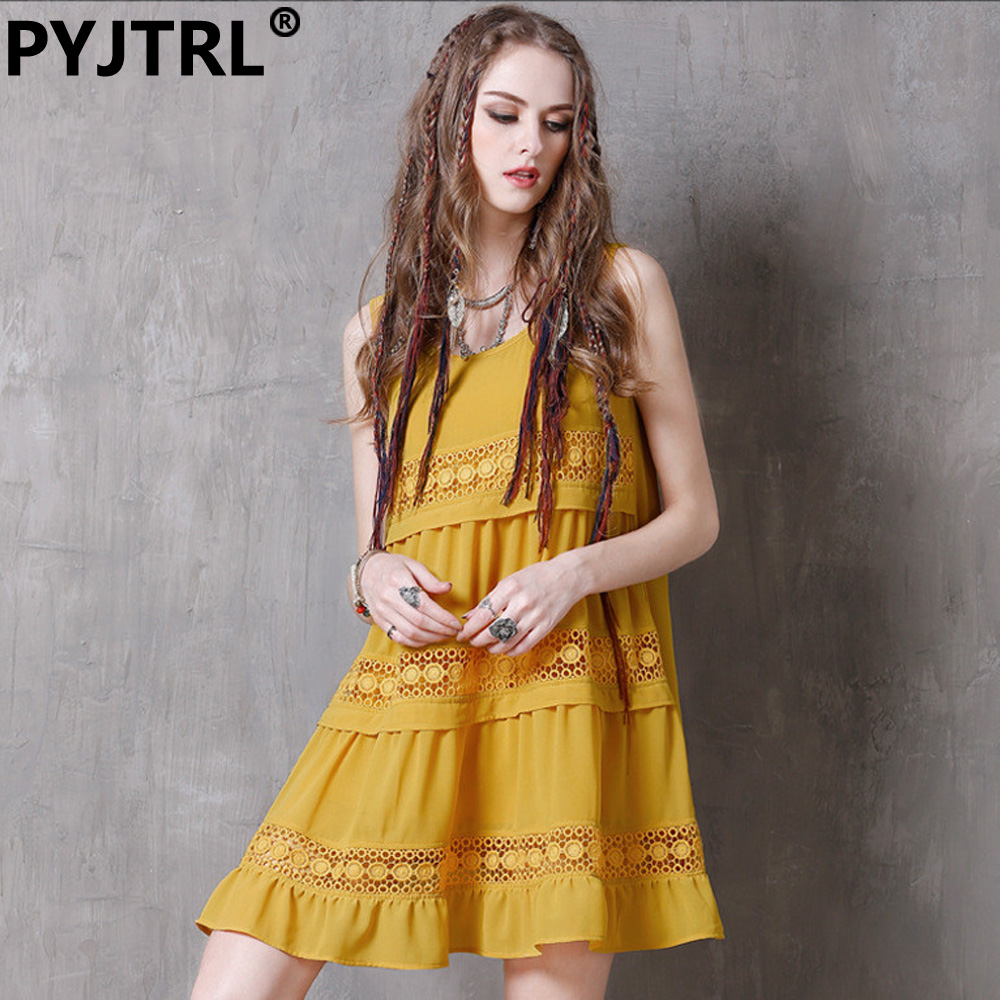 Online Get Cheap Yellow Chiffon Dresses -Aliexpress.com | Alibaba ...