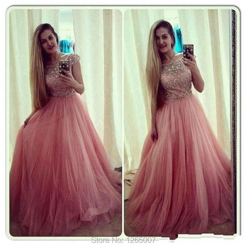 Puffy Tulle Prom Dresses