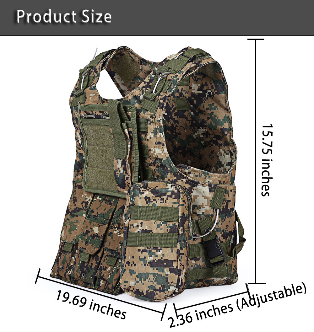 Professional USMC Airsoft Tactical Military Molle Vest Combat Assault Plate Carrier Vest Army fans Outdoor equipment CS Clothing yuetor outdoor hunting men airsoft combat assault plate carrier vest colete tatico militar tactical molle multicam military vest