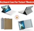 "Местный Язык Bluetooth Keyboard Case Для Teclast TBook 10 TBook 10 S 10.1 ""ПК, Case Для Teclast TBook10 TBook10S С 4 Подарки"