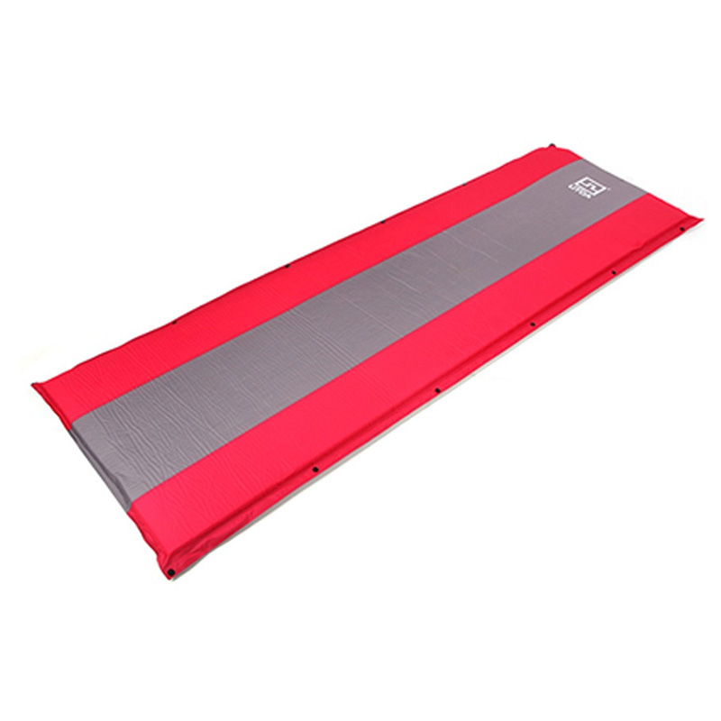 New Sale AOTU Self Inflating sponge Sleeping Mat Camping <font><b>Mattress</b></font> Air Bed Single Roll Up (red)