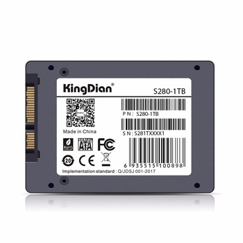 (S280 1TB)KingDian SSD 1TB 2.5 inch SATAIII Internal Solid State Drive with three years warranty for Laptop Desktop 550/510MB/S