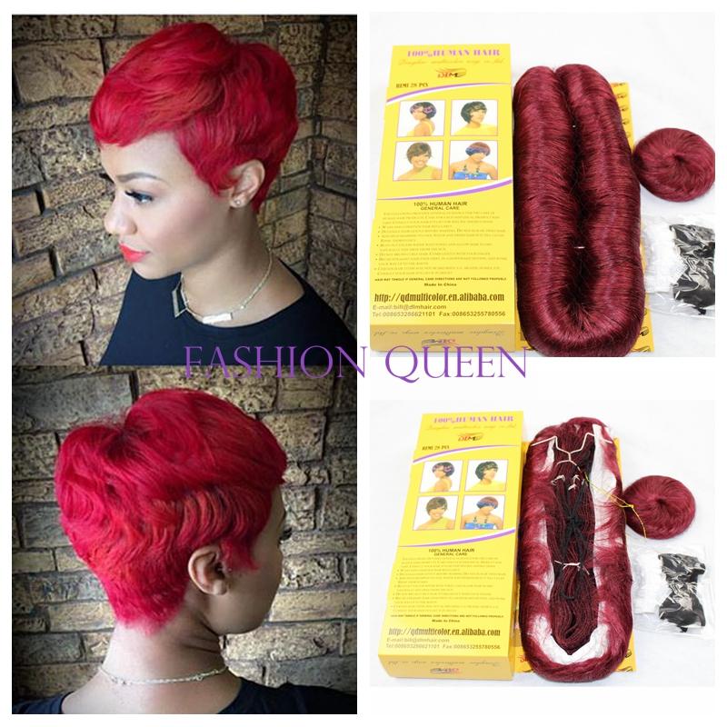 Super Popular 27 Piece Hair Weave Buy Cheap 27 Piece Hair Weave Lots Short Hairstyles Gunalazisus