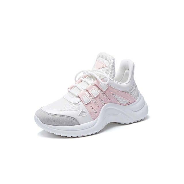 US $16.55 31% OFF|2019 rzucili Air Sneakers buty do biegania kobiet Fandei oddychające darmowe Run buty sportowe do biegania Zapatillas Hombre Mujer