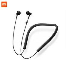 Новые Xiaomi воротник Bluetooth гарнитура Молодежная версия 2018 новые шейные спортивные наушники Быстрая зарядка Mi беспроводные наушники D5
