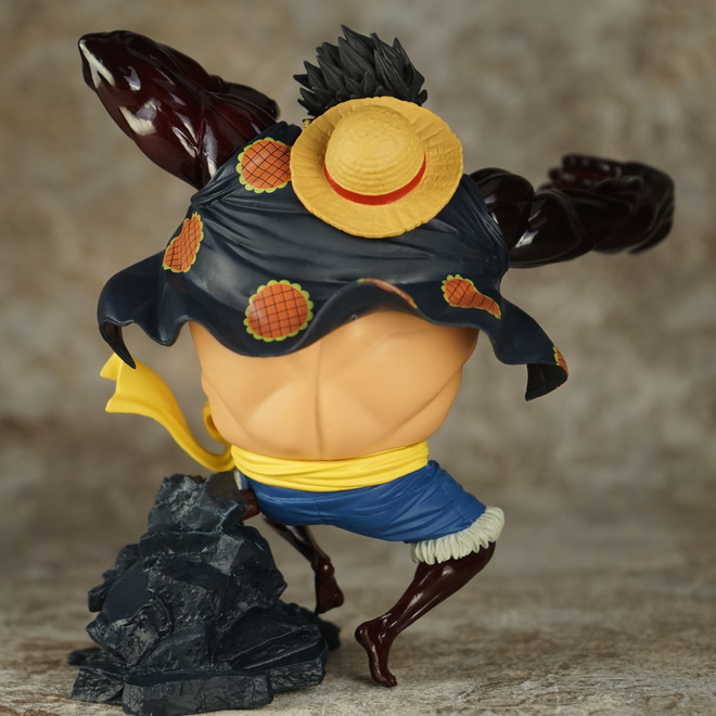 17cm One Piece Monkey D Luffy Gear Fourth Anime Action Figures Toys Gift