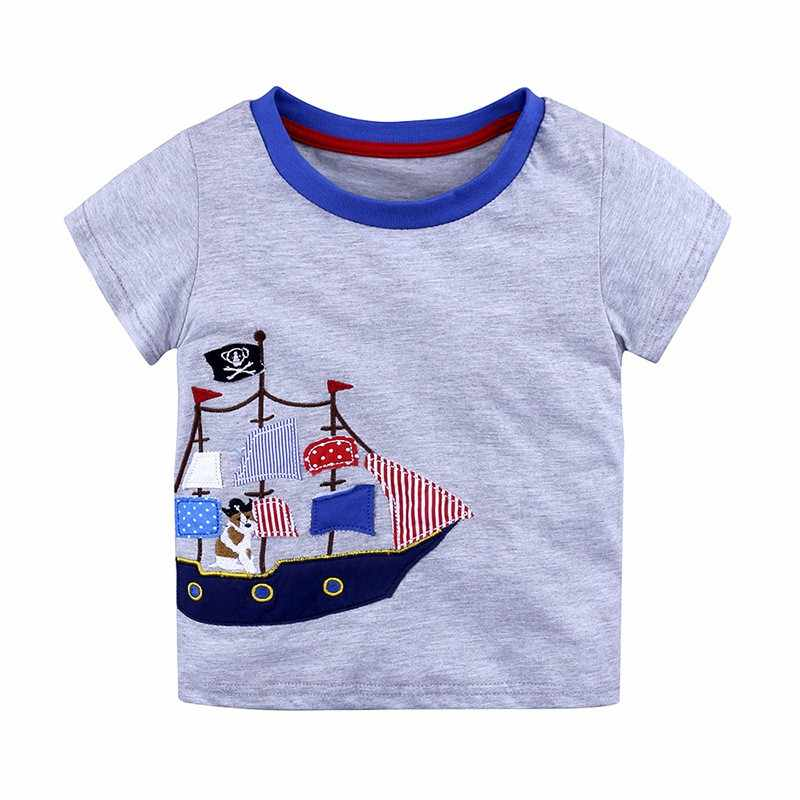 30574b351eaf Detail Feedback Questions about 9 styles Children s T shirt Boys T shirt  Baby Clothing Little Boy Summer Shirt Tees Designer Cotton Cartoon Clothes  1 6Y on ...