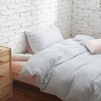 Bedding Sets 4pcs Stripe Duvet Quilt Cover For King Queen Full Twin Size Bedclothes 100 Cotton