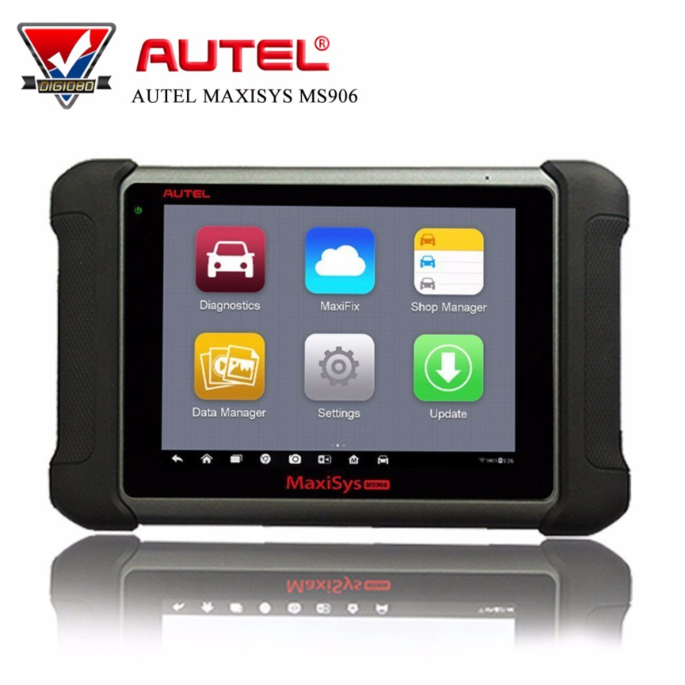 Autel MaxiSys MS906 Professional Car Diagnostic Tool Full System Diagnoses with Oil Reset/DPF/TPMS/EPB/ABS/SRS/SAS/Auto VIN