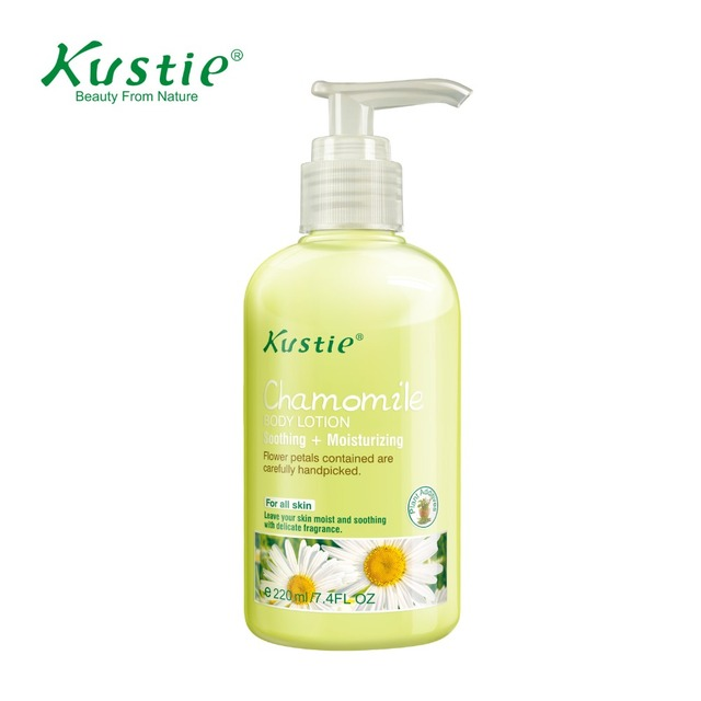 Kustie Daily Moisturizing Chamomile Body Lotion With Natural Floral Essence (220ml)