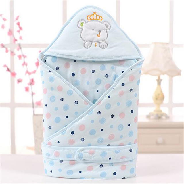 Baby Swaddle Wrap Blanket Sleeping Bag Cotton Animal Baby Accessaries Toddler Envelope Bedding Cute Warm Thick Blanket