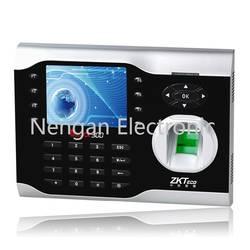 ZKteco мультимедиальным фингерпринта терминалов iClock300 3.5 дюймов Экран 125 кГц EM ID карты и отпечатков пальцев время часы